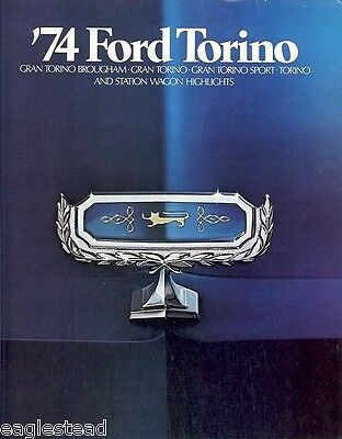 Auto Brochure - Ford - Torino - Car - 1974 (AB19)