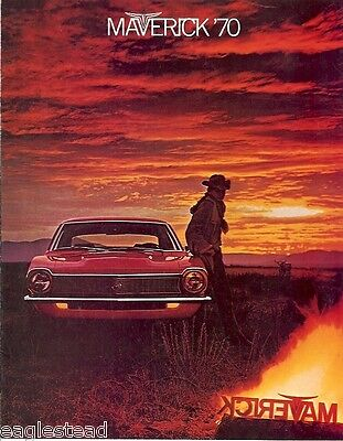 Auto Brochure - Ford - Maverick - Car - 1970 (AB31)