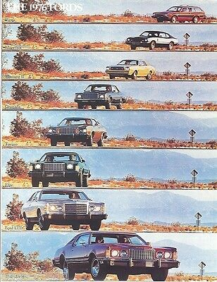Auto Brochure - Ford - Lineup - Car - 1976 (AB34)