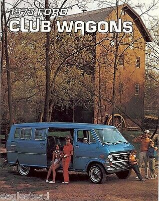 Auto Brochure - Ford - Club Wagons - Van - 1973 (AB27)