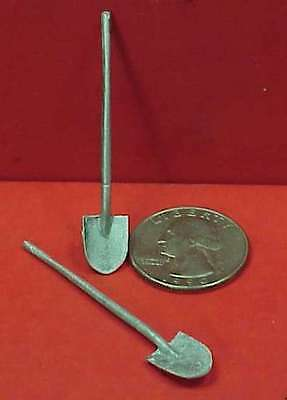 Gdp07 Wiseman Model Services G Scale Or 1:20.3 Detail Parts: Spade Shovels