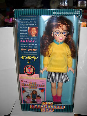 """#2064 Vintage Kenner Babysitter's Club 18"""" Mallory Doll"""