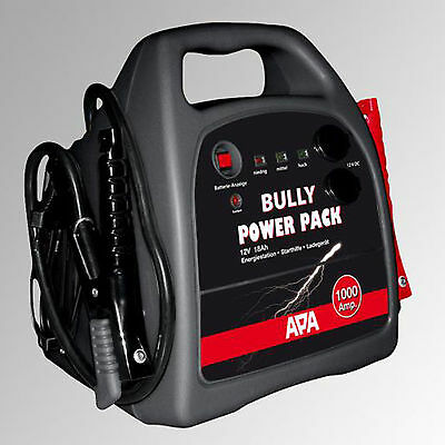 APA EUFAB Power Pack Bully 1000 Mobile 12V Starthilfe 16526 Pkw starten NEUWARE