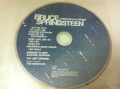 Bruce Springsteen - Working on a Dream CD Album 2009 - DISC ONLY in Sleeve