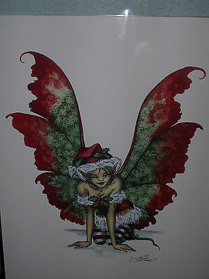 Amy Brown - Holly Faery - OUT OF PRINT