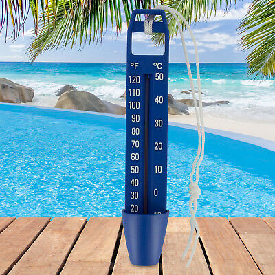 XXL 25cm Pool Wasser Thermometer Poolthermometer Schwimmbad Temeraturfühler