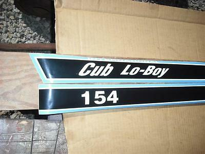 International Cub Lo-Boy 154 Hood Decals Only.  See Details