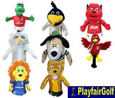 New - Premier League Football Club Mascot Golf Driver Head Cover