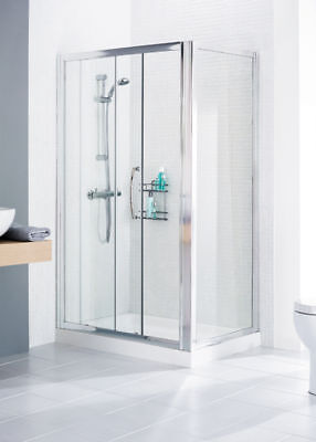 Lakes Shower Enclosure Universal Side Panel 700MM SILVER CLEARANCE OFFER
