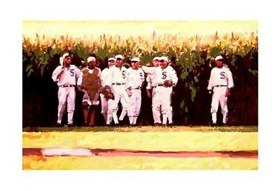 Field of Dreams Baseball 36x24 Movie Art Painting Poster Print Signed by Artist