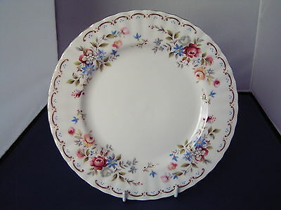 "ROYAL ALBERT ""JUBILEE ROSE"" DESSERT PLATE."