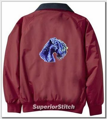 KERRY BLUE TERRIER Challenger jacket ANY COLOR B