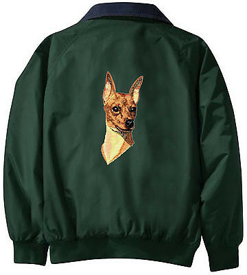 MINIATURE PINSCHER Challenger jacket ANY COLOR B