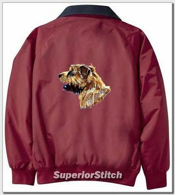 NORFOLK TERRIER Challenger jacket ANY COLOR B