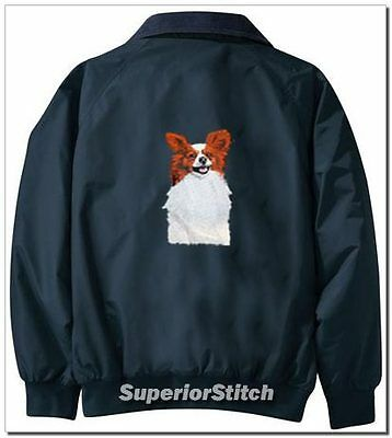 PAPILLON embroidered Challenger jacket ANY COLOR B