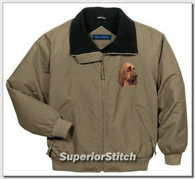 BLOODHOUND embroidered Challenger jacket ANY COLOR