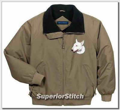 BULL TERRIER embroidered jacket ANY COLOR