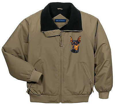MINIATURE PINSCHER challenger jacket ANY COLOR