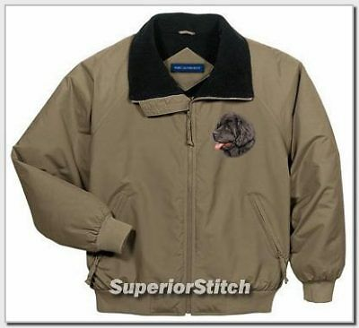 NEWFOUNDLAND  embroidered challenger jacket ANY COLOR