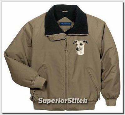 WHIPPET embroidered challenger jacket ANY COLOR