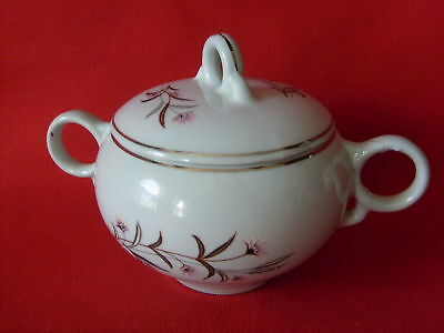 Edwin Knowles Strawflower China, (1) SugarBowl & Lid