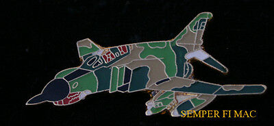 F-4 Phantom Hat Lapel Pin Up Vietnam Iraq Wild Weasel Us Air Force Veteran Wow