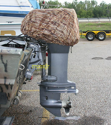 AVERY GREENHEAD GEAR GHG OUTBOARD BOAT MOTOR COVER BLIND MARSHGRASS MG CAMO MED!