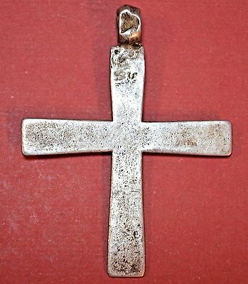 Silver Antique Ethiopian Coptic Orthodox Christian Cross Pendant Ethiopia Africa