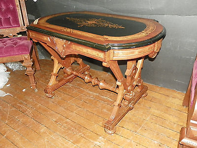 American Renaissance Table Inlaid Top 4423