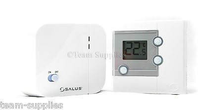 Salus Rt300Rf Digital Wireless Electronic Room Thermostat Stat Radio Frequency