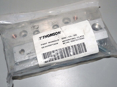 New Thomson 9600-174-005 Mounting Plate For M100 Rapidtrac Linear Slide Assy