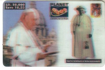 Nuova - Planet  Communication - Lire 20.000 - Immagine Papa
