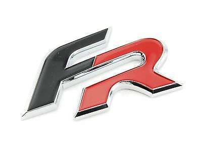 seat r emblem schriftzug logo badge original cupra eur. Black Bedroom Furniture Sets. Home Design Ideas