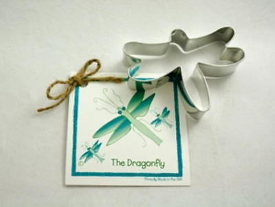 ANN CLARK~DRAGONFLY~ tin cookie cutter~MADE IN USA (NEW)