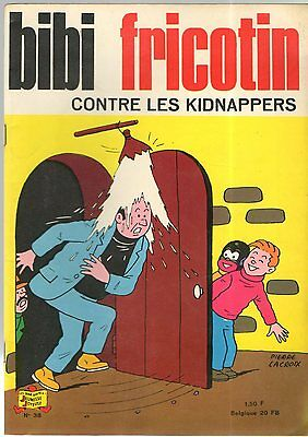 BIBI FRICOTIN n°38 - BF CONTRE LES KIDNAPPERS - SPE - 1967