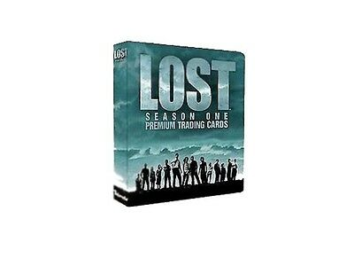 Lost Classeur set trading cards saison 1 lost binder and season 1 trading card