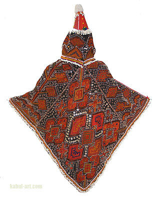 Antique and very rare large Jung Girls headdress from Nuristan - Swat Valley  C