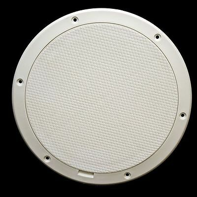 Triton 1718383 White 9 1/2 Inch White Pry Out Boat Inspector / Deck Plate