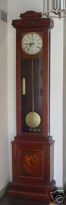 WATERBURY REGULATOR very rare TALL CASE CLOCK VICTORIAN