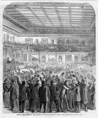 Proposition To Amend The Constitution 1865, House Of Representatives, Politician