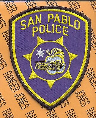SAN PABLO CALIFORNIA POLICE DEPARTMENT SPPD PD SO LEO patch