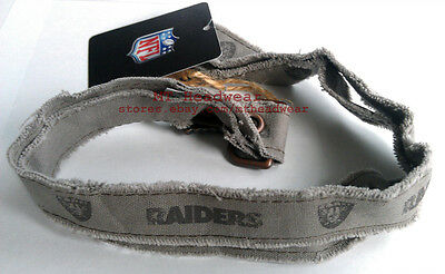 OFFICIAL LICENSED NFL LANYARD ***RUGGED OAKLAND RAIDERS*** KEYCHAIN KEYRING