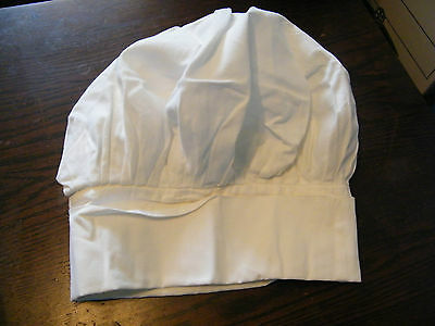 """Collectible Chef Hat Label Signed """"Angelica 7 Sanforized Shrunk H-M"""" Nice"""