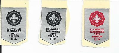 BOY SCOUT CINDERELLAS SEALS AND LABELS from JAPAN Lot f