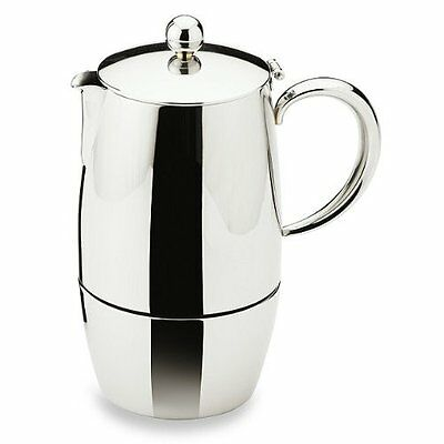 Bellux Stovetop Stainless Steel Espresso Coffee Maker 3 Cup Dishwasher Safe