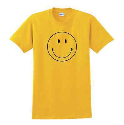 Retro Smiley face tshirt Smily shirt 60's hippie Forrest Gump YOUTH