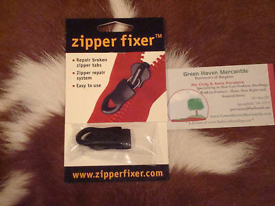 Zipper Fixer Repair Pull Tabs - Small or Large or Extra Large Size (2)