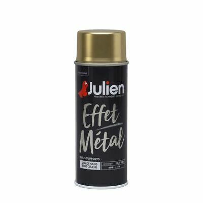 Bombe Peinture Or Brillant Aerosol  400Ml Julien Tous Supports