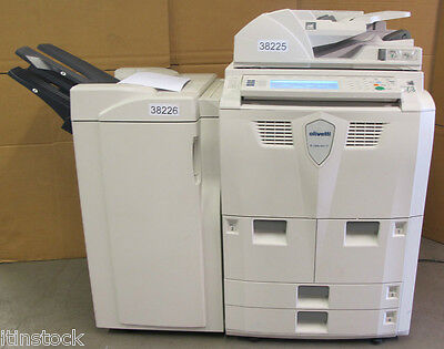 Olivetti D-Copia 600 Photocopier Copier 60ppm DF-650 Finisher Fax Email Scan