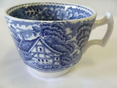 WOOD & SONS WOODLAND BLUE DEMITASSE CUP ONLY